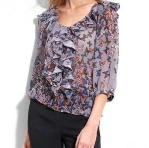 TED BAKER butterfly blouse